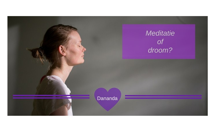 Yoga, Dananda, meditatie of droom