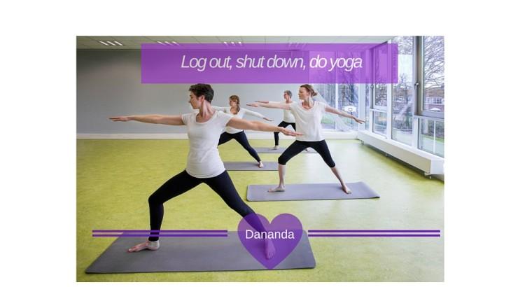 yoga zweverig? juist niet! Dananda, yoga, Utecht